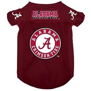 Amazon.com : Alabama Crimson Tide Pet Dog Football Jersey ...