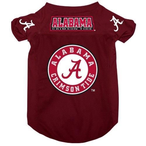 Alabama Crimson Tide Pet Dog Football Jersey Alternate SMALL