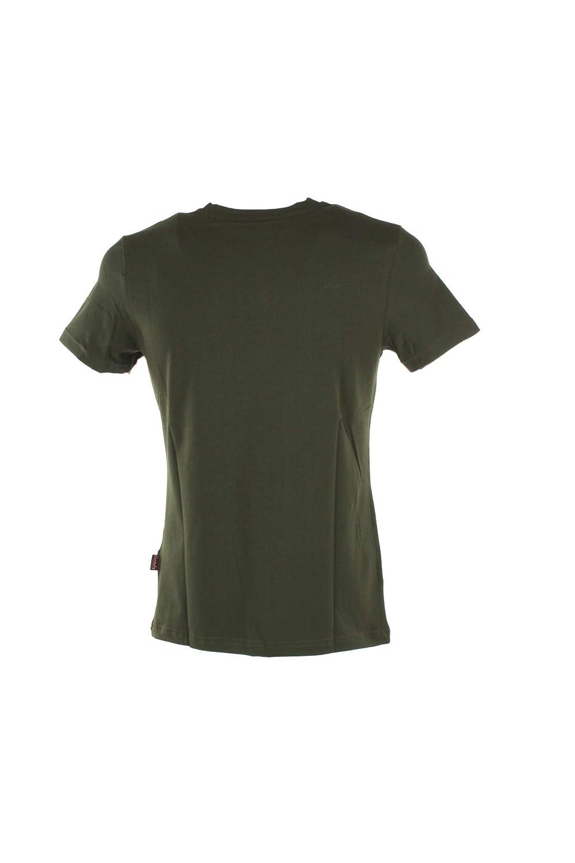 Carlsberg T-Shirt Uomo XL Militare Cbu3614 Primavera Estate 2019
