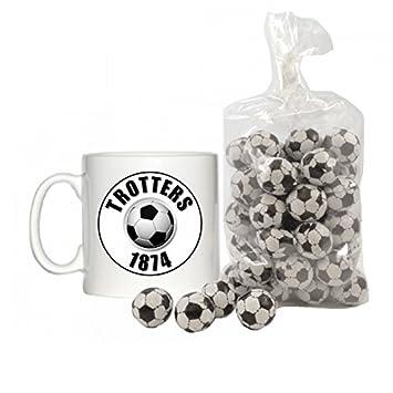 Trotters diseño de 1874 6 oz taza de Espresso con 200 G Bolsa de Chocolate balones: Amazon.es: Hogar
