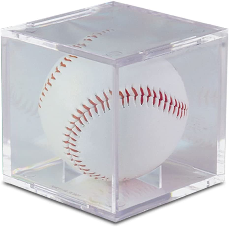 Ultra Pro Baseball Clear Square UV Holder: Sports & Outdoors