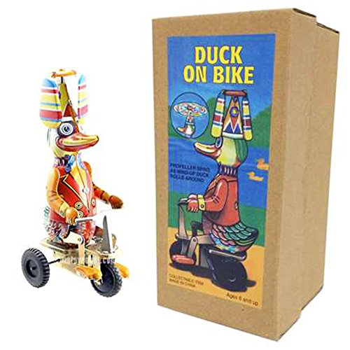 Off the Wall Toys Vintage Style Duck On A - Up Duck Wind