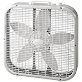 Lasko 20 Box Fan, White
