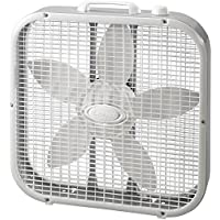 Lasko 20 Box Fan, White