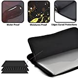 PopKindom Laptop Sleeve Laptop Sleeve Case Fashion Icon Girl Quotes Neoprene Carrying Bag Briefcase Handbag For 13 Inch For All Computer Ultrabook/Lenovo Dell/MacBook Pro/Macbook Air