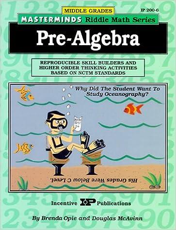 Amazon.com: Masterminds Pre Algebra: Reproducible Skill Builders ...