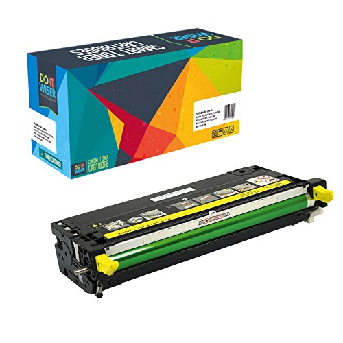 3115 Printer (Do it Wiser Compatible High Yield Toner for Dell 3110 3110cn 3115 3115cn - 8,000 pages - Yellow)