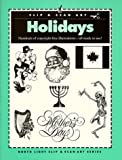 Holidays, North Light Books Staff and Clip and Scan Staff, 089134487X