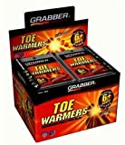 Grabber Performance Toe Warmers 80 Pair Value Pack by Grabber