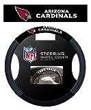 NFL Arizona Cardinals Poly-Suede Steering Wheel