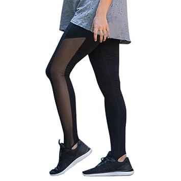 HKFV Pantalones deportivos para mujer, yoga, embarazo ...