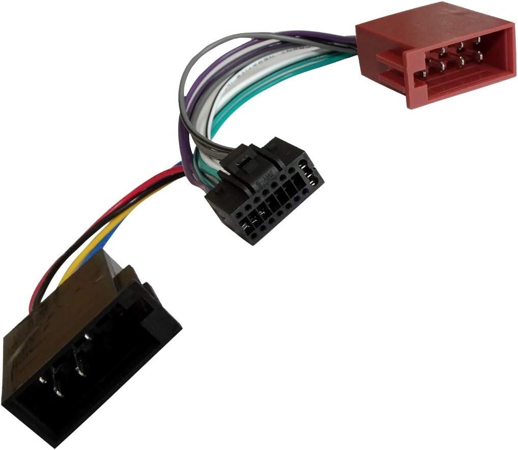 AERZETIX: Adaptador ISO cable para radio de coche C1771: Amazon.es ...