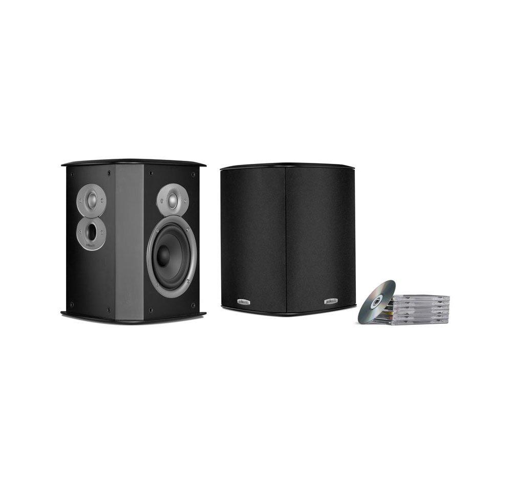 Polk Audio FXI A4 Surround Speakers, Pair - Black (Certified Refurbished)