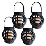 Decorative Black Candle Lanterns - Pack of 4 - Best Reviews Guide