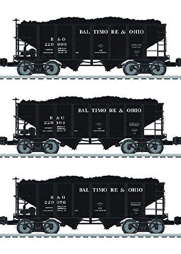 B&O 2 BAY HOPPER 3 PACK -  LIONEL TRAINS, LIO684153