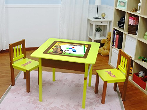 2 Piece Magic Table maltafel Magnetic Blackboard Miracle Table Set