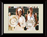 Framed Williams Sisters Autograph Replica Print - Greatest Tennis Duo!