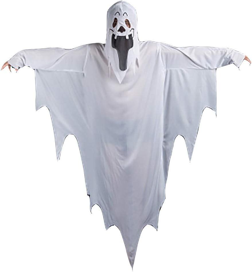 WANGQJZH Disfraz de Halloween Disfraz de Fantasma Disfraz de ...