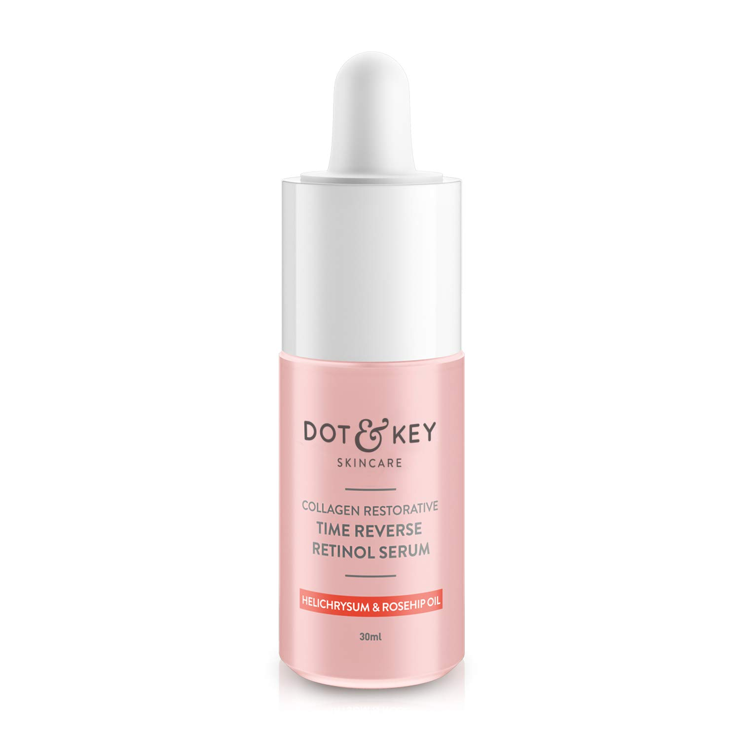 Dot & Key Collagen Restorative Time Reverse Retinol Serum 30ml, anti ageing serum with collagen peptide, rosehip oil and…