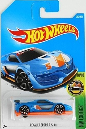 Hot Wheels 2017 HW Exotics Renault Sport R.S. 01 252/365, Blue