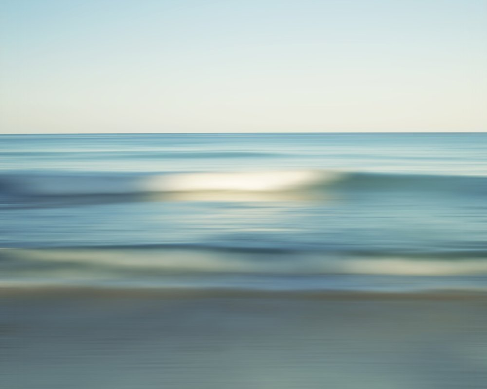Miami Beach Wave Abstract Seascape Fine Art Photography Print by Roman Gerardo