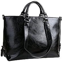 FANZY Waterproof Women Top Handle Satchel Pu Leather Handbags Crossbody Shoulder Bag