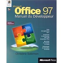 office 97: manuel du developpeur (avec cd-rom)