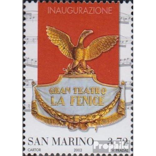 san marin 2119 (complète.Edition.) 2003 Theaterwappen (Timbres pour les collectionneurs)