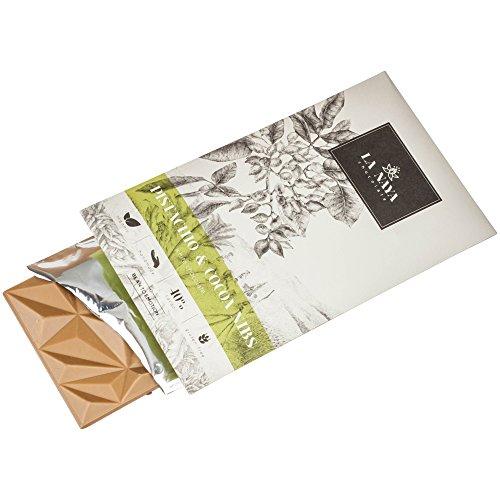 La Naya White Chocolate with pistachio and cocoa nibs 80 g - Cocoa Pistachio