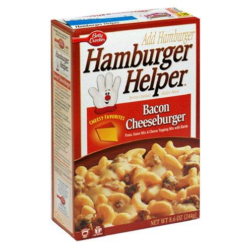 Hamburger Helper Bacon Cheeseburger Pasta & Sauce Mix 5.1 (Betty Crocker Sauce)