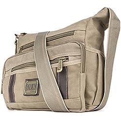 Principe Canvas Messenger Bag for Acer Chromebook 11 13 15, TravelMate P 13 15, TravelMate B 13, TravelMate X 13, One 10, Aspire Switch 10 E 11V 12 13