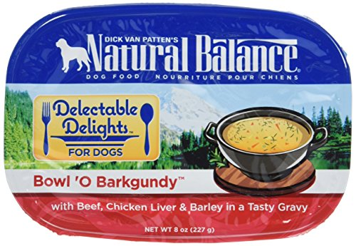 Natural Balance Delectable Delights Bowl 'O Barkgundy Dog Stew