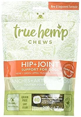 True Leaf Pet 40 Count Hemp Chews for Dogs