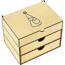 'Grumpy Gnome' Vanity Case / Makeup Box (VC00011937)