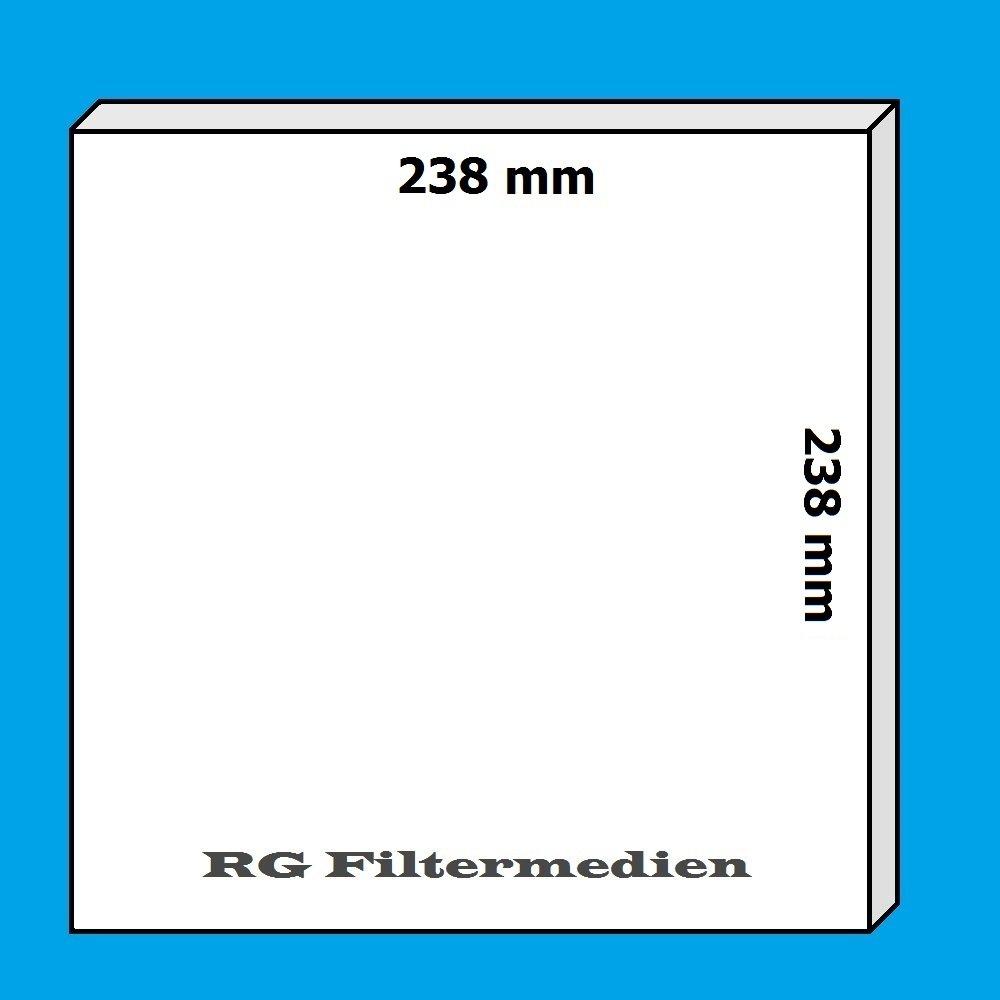 absorci/ón de ruido 238 x 238 mm mayor capacidad de retenci/ón de polvo 5/filtros de repuesto Limodor serie de ventiladores compactos G3