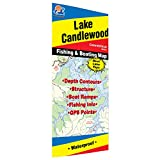 Candlewood Lake Fishing Map