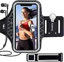 Autkors Brassard de Sport, Brassard Smartphone de Course pour iPhone 12/12 Pro/11/11 Pro/XR/X/8/7/6 Plus Jusqu'à 6.1...