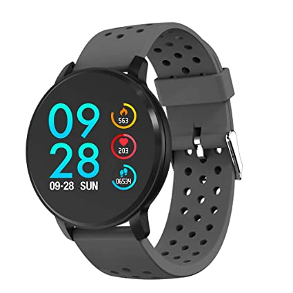 Amazon.com: FEDULK Sports Smart Watch Android iOS Fitness ...