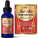 Best Diet Drops Weight Loss Formulas - Just Thin Thermogenic Weight Loss Diet Drops Supplement Review