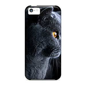 Excellent Iphone 5c Case Tpu Cover Back Skin Protector Bad Cat