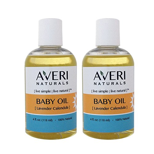 Baby Massage Treatment (Averi Naturals Calendula Baby Massage Oil • 100% Natural • with Organic Sunflower and Jojoba Oils • 4 oz • FREE SHIPPING (2))