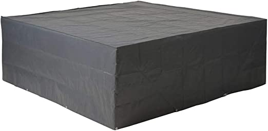 Housse de protection salon bas de jardin 200x200xH70 cm gris/noir GRAPHITE  noir