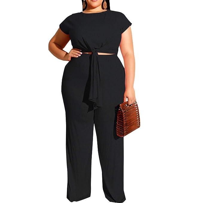 Amazon.com: Trajes de pantalón de dos piezas para mujer ...