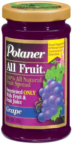 Polaner All Fruit With Fiber Grape Spreadable Fruit 10 oz by Polaner