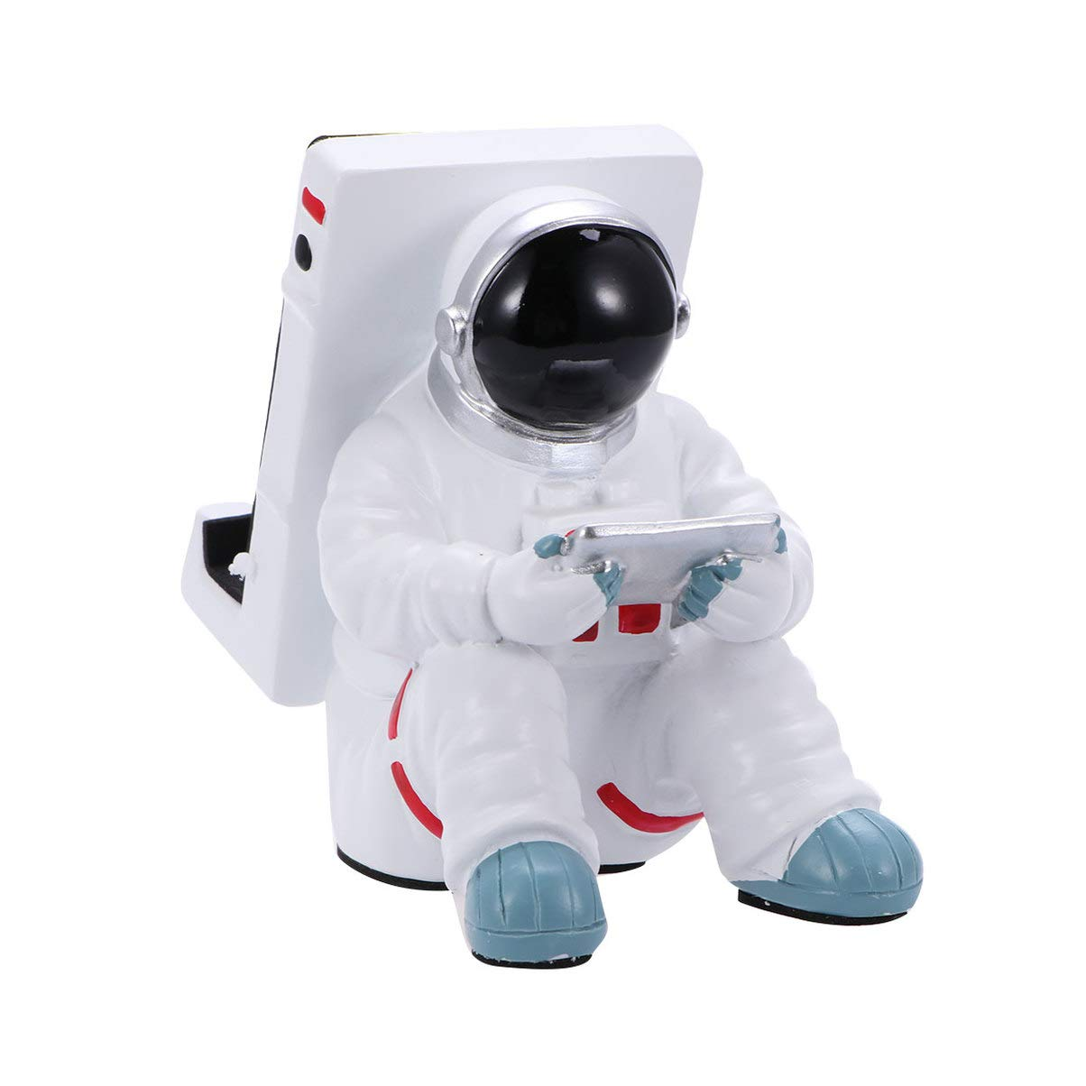 SUPVOX Harz Handyhalter Space Astronaut Smartphone Halter Tischdekoration