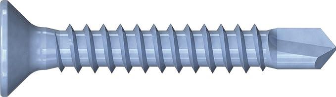 Unimet Drilling Screws Silver UM734402 Box of 100