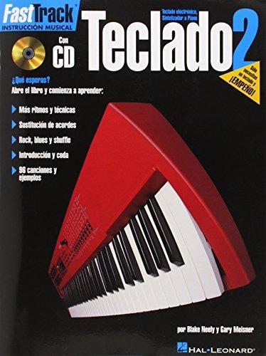 TECLADO 2 BK/CD FASTTRACK KEYBOARD SPANISH by Blake Neely ...