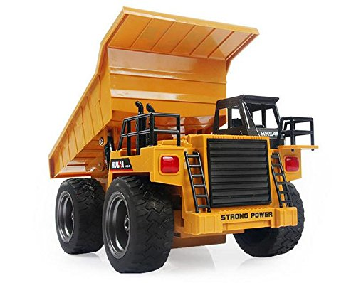 1:12 scale 6CH Remote Control Rc Dump truck construction truck radio control Tipper Dump-car Toy ,rc tip lorry