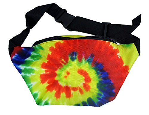 [Funny Guy Mugs Tie Dye Fanny Pack] (Easy Halloween Costume Ideas For Guys)