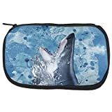 Hungry Great White Shark Breaching Travel Bag Multi Standard One Size